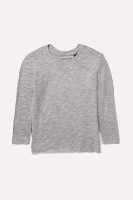 ATM Kids - Ages 1 - 5 Distressed Slub Stretch-pima Cotton Jersey Top