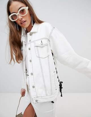 Glamorous flare sleeve denim jacket