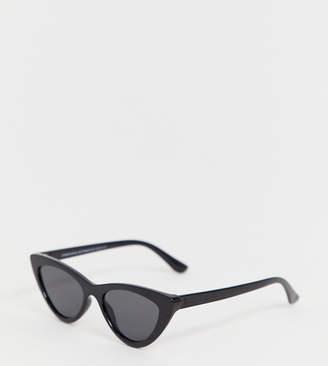 abeac48f79f Cat Eye Stradivarius mini cateye sunglasses in black