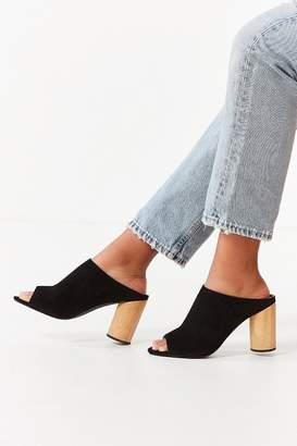 Urban Outfitters Poppy Suede Mule Heel