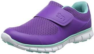 Lonsdale London Girls' Lima Fitness Shoes, (Purple/Mint), 37 EU