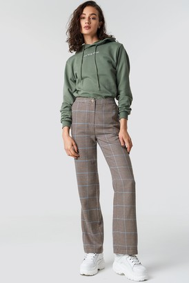 Olsen Astrid X Na Kd Checked Suit Pants Checked