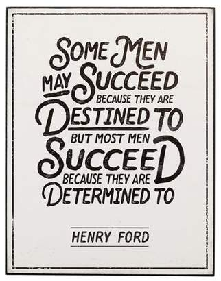 Open Road Brands Succeed Quote By Henry Ford Table Topper