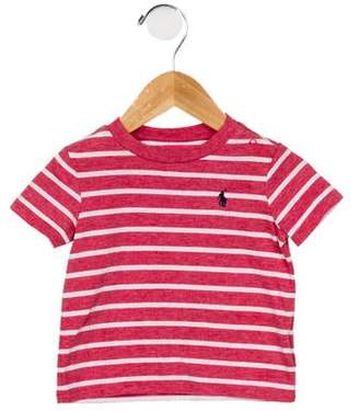 Ralph Lauren Infants' Striped Short Sleeve T-Shirt