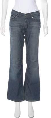 Dolce & Gabbana Wide-Leg Low-Rise Jeans