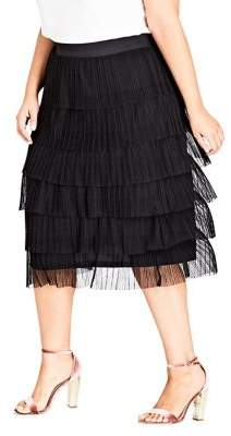 City Chic Plus Beauty Ballet Skirt