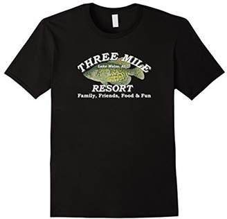 3 Three Mile Resort Weiss Lake Centre Alabama T Shirt