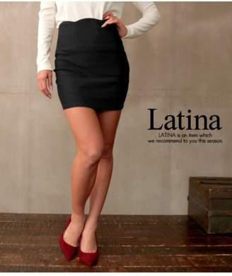 ANAP (アナップ) - アナップ [Latina]スカラップストレッチタイトミニスカート