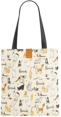 Harrods Archive Edition Cats Tote Bag