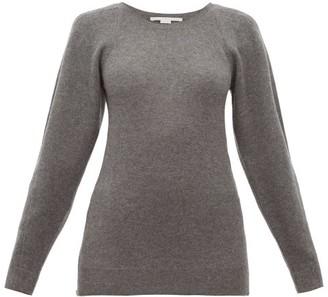 Stella McCartney Side Zip Wool Sweater - Womens - Dark Grey