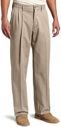 Lee Men's Big-Tall Comfort Waist Custom Fit Pleated Pant
