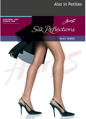 Hanes Control Top Sheer Toe Pantyhose__EF