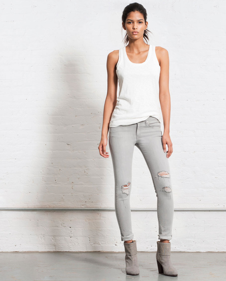 Rag and Bone Skinny - Surrey with Holes