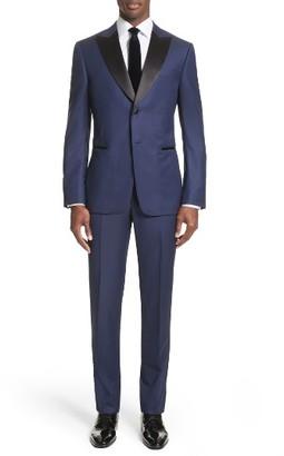 Men's Z Zegna Slim Fit Wool Tuxedo $1,595 thestylecure.com