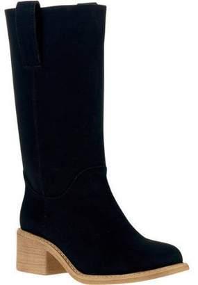 Mo Mo MoMo Women's Lasso Chunky Heel Boot