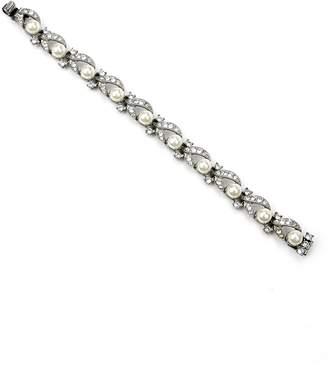 Ben-Amun Faux Pearl Line Bracelet