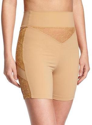 La Perla Shape Allure Lace-Panel Shorts $424 thestylecure.com