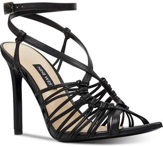 43a8736d3 Nine West Gagnant Strappy Dress Sandals Women Shoes