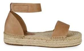 Splendid Jensen Leather Flat Espadrilles
