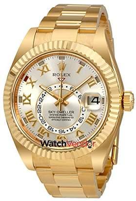 Rolex Sky Dweller Dial 18 Carat Yellow Gold Oyster Men's Watch 326938SRO