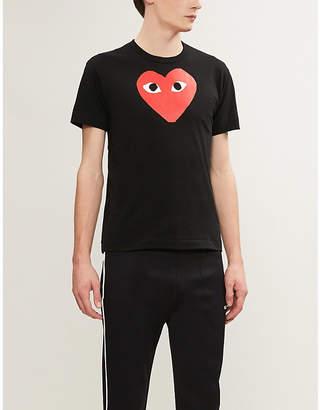 Comme des Garcons play heart cotton t-shirt