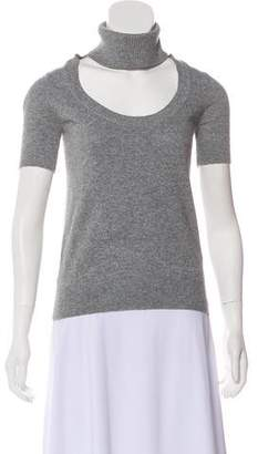 Rachel Zoe Angora-Blend Short Sleeve Top
