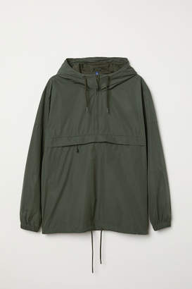 H&M Anorak with Hood - Green