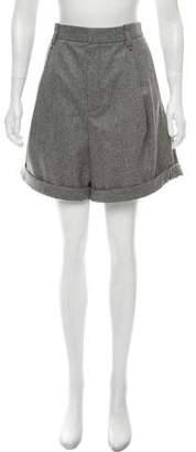 Chloé Virgin Wool Knee-Length Shorts w/ Tags