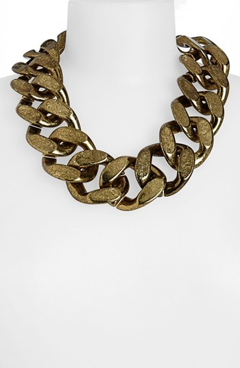 Topshop Large Chunky Chain Necklace