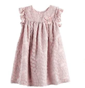 Girls 4-6X Marmellata Classics Floral Lace Shift Dress