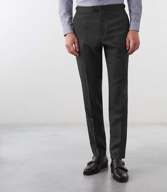 Reiss Dobron Slim Fit Fine Striped Trousers