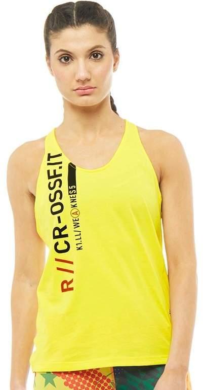 Damen CrossFit Speedwick Top Gelb
