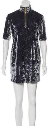 Marc Jacobs Short Sleeve Velvet Tunic w/ Tags