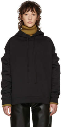 Raf Simons Black Additional Sleeve Hoodie