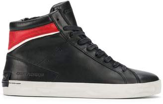 Crime London Hope contrast hi-top sneakers