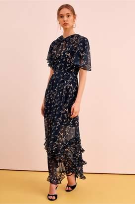 Keepsake DAYBREAK DRESS navy floral