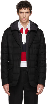 Moncler Black Vernoux Down Jacket