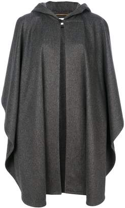 Saint Laurent oversized hooded cape