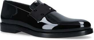 Valentino Garavani Patent Tuxedo Rockstud Loafers