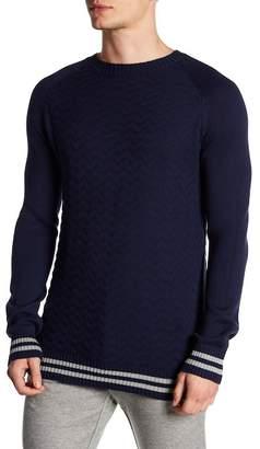 Parke & Ronen Striped Racer Sweater