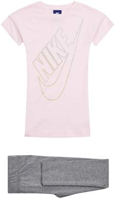 Nike Dress and Leggings Set