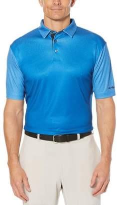 Hogan Ben Men's Performance Short Sleeve Ombre Printed Golf Polo