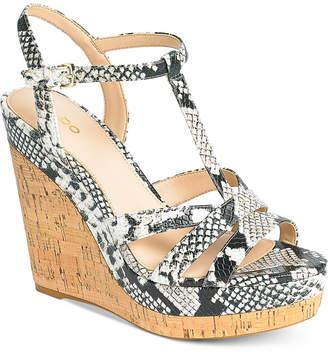 Aldo Nydaycia Wedge Sandals Women's Shoes