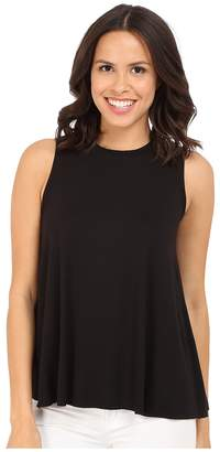 Three Dots Keiko Sleeveless Drape Tank Top Women's Sleeveless