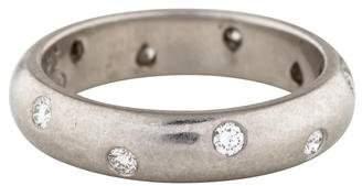 Tiffany & Co. Platinum Diamond Etoile Band