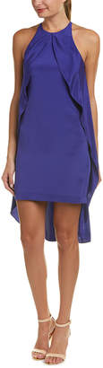 Nicole Miller Silk-Blend Shift Dress