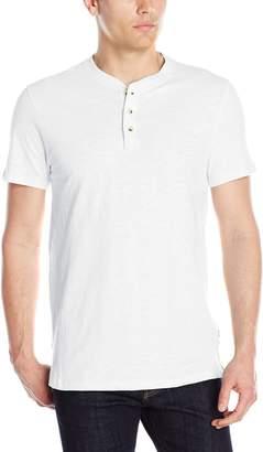 Lee Men's Short Sleeve Henley Shirt, Henry Old Rose