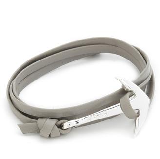 Miansai Anchor Leather Wrap Bracelet $65 thestylecure.com