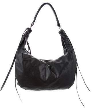 Miu Miu Leather Hobo Bag
