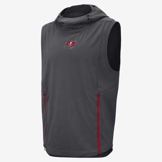 Nike Shield Fly Rush (NFL Buccaneers) Men's Hooded Pullover Vest